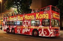 香港名物「オープントップバス」